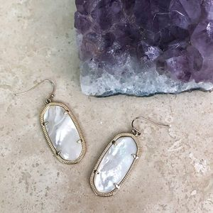 Kendra Scott Danielle Mother-of-Pearl Earrings